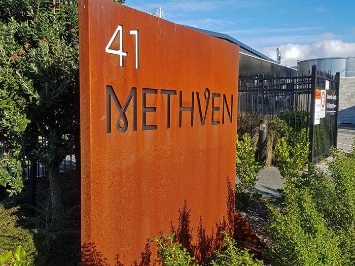 Methven Roadside Sign